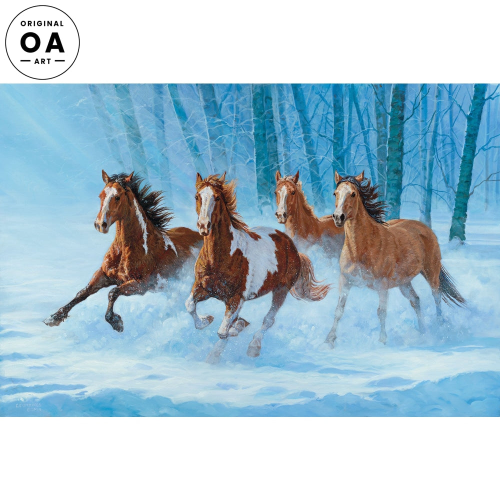 Out of the Woods—Horses.