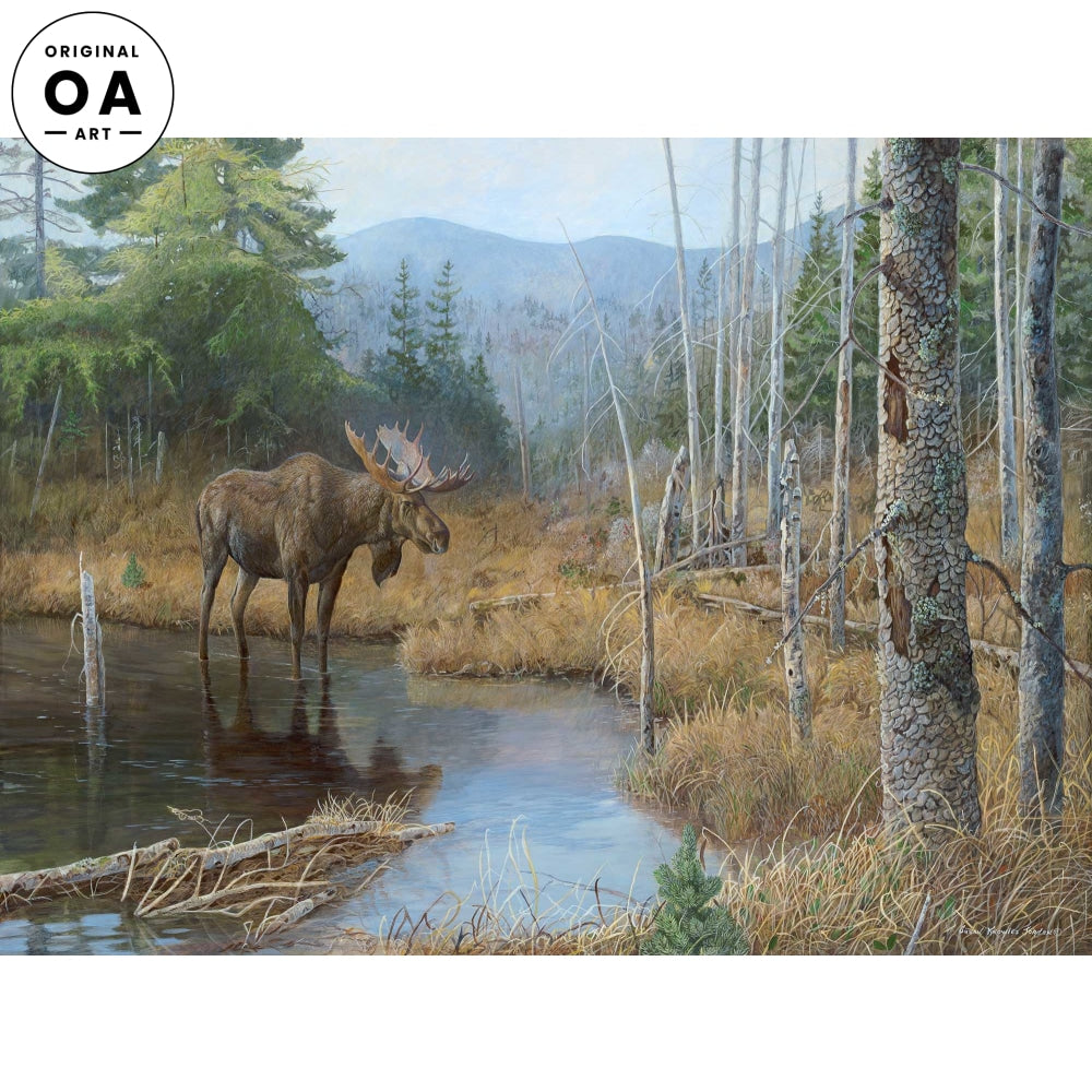 <i>Big Boy&mdash;Moose</i> Original Artwork