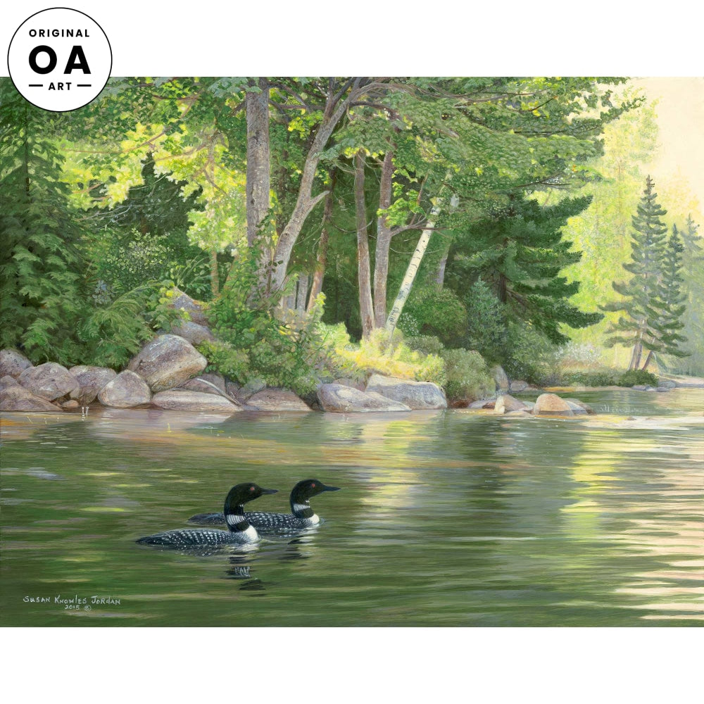 <i>Deep Cove&mdash;Loon</i> Original Artwork
