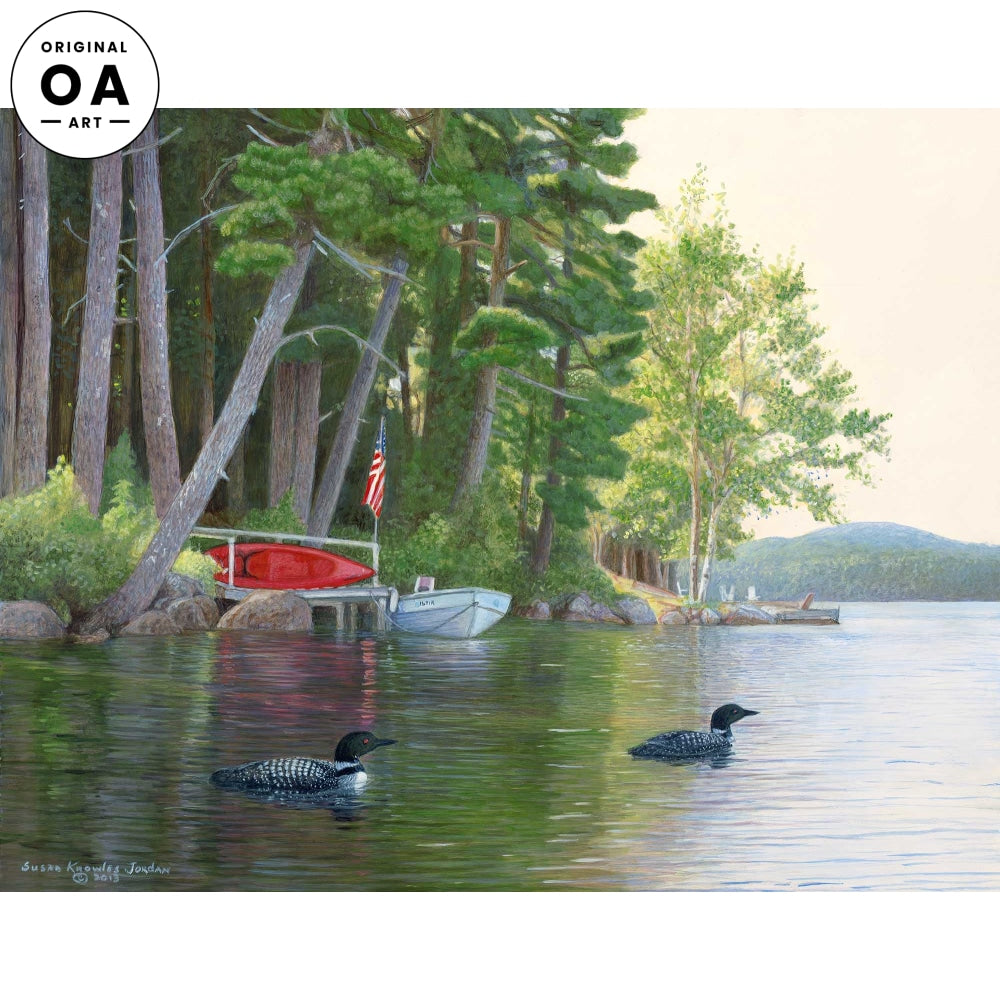 Kayaker's Paradise—Loons.
