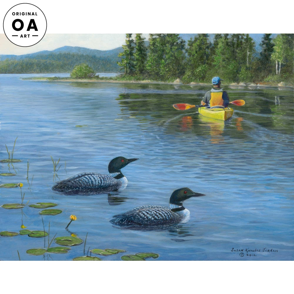 <i>Freshwater Cove&mdash;Loons</i> Original Artwork