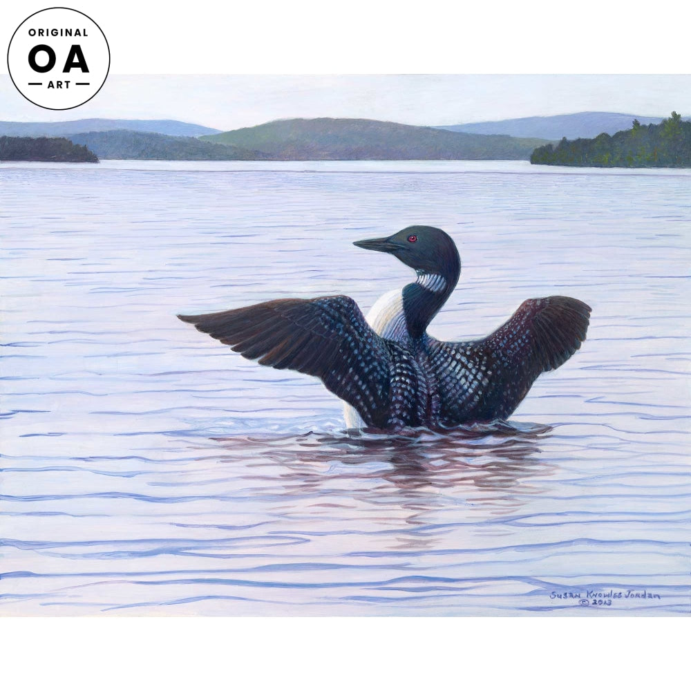 Stretching— Loon.