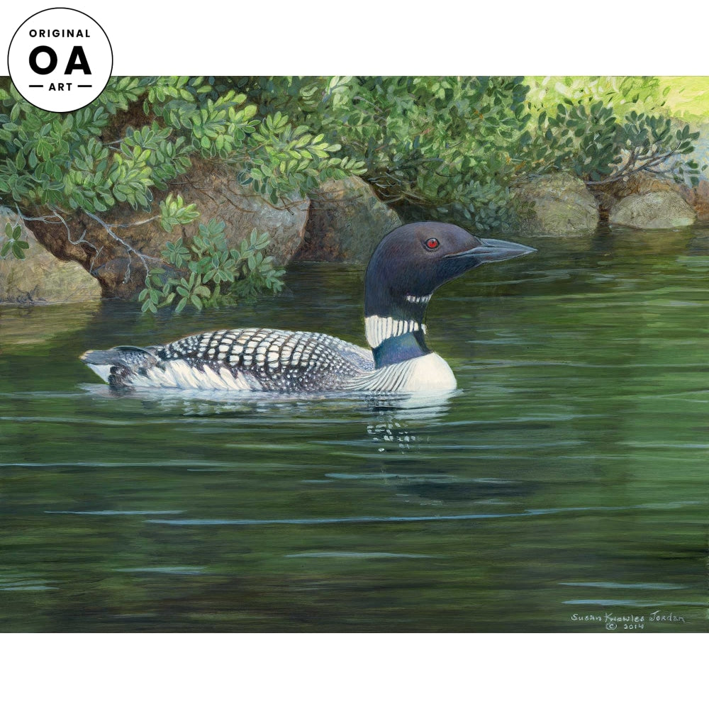 <i>Pea Porridge Pond&mdash;Loon</i> Original Artwork