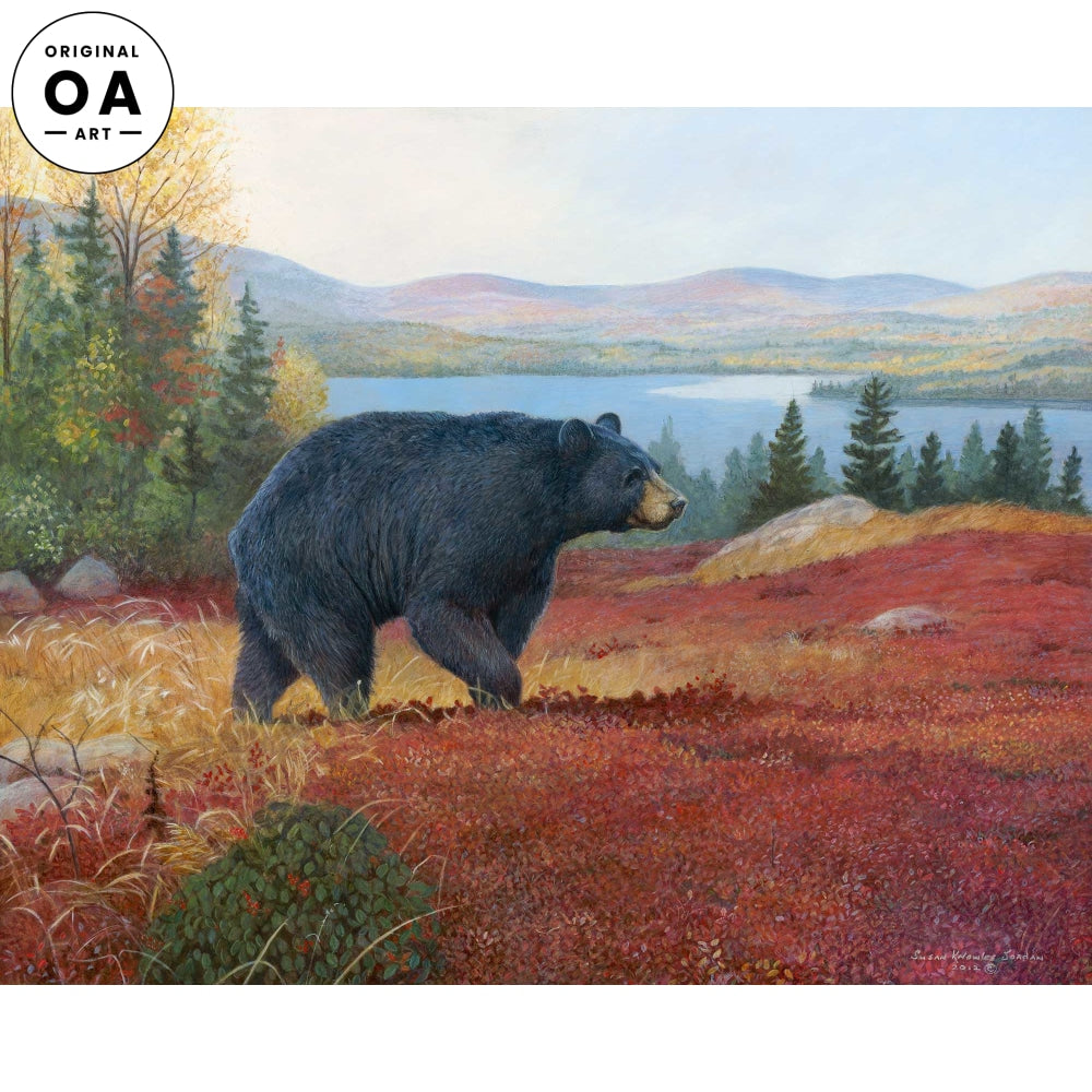 <i>Pine Ridge&mdash;Black Bear</i> Original Artwork