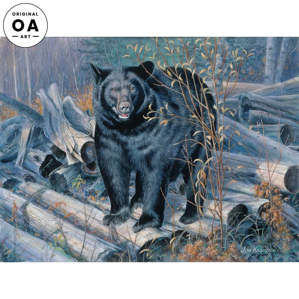 <i>Ant Hunter&mdash;Black Bear</i> Original Artwork