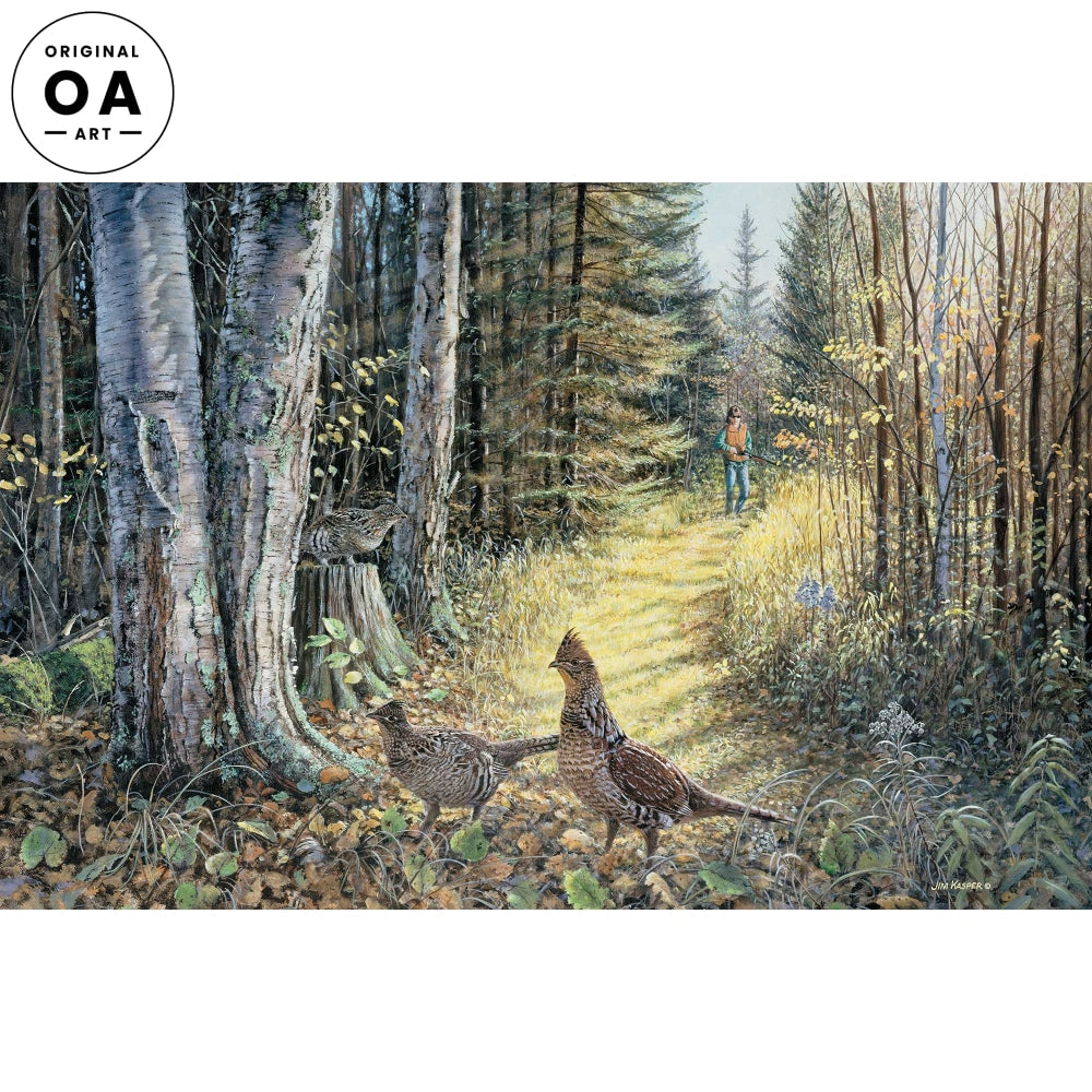 <i>Corner Covey&mdash;Grouse</i> Original Artwork