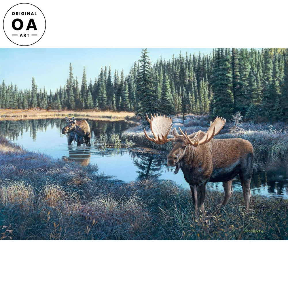 <i>Now Showing&mdash;Moose</i> Original Artwork