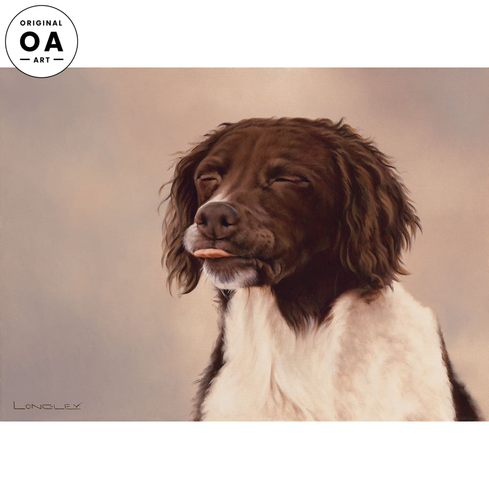 <i>Red Raspberry&mdash;Springer Spaniel</i> Original Artwork