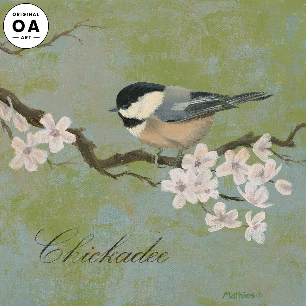 <i>Chickadee</i> Original Artwork
