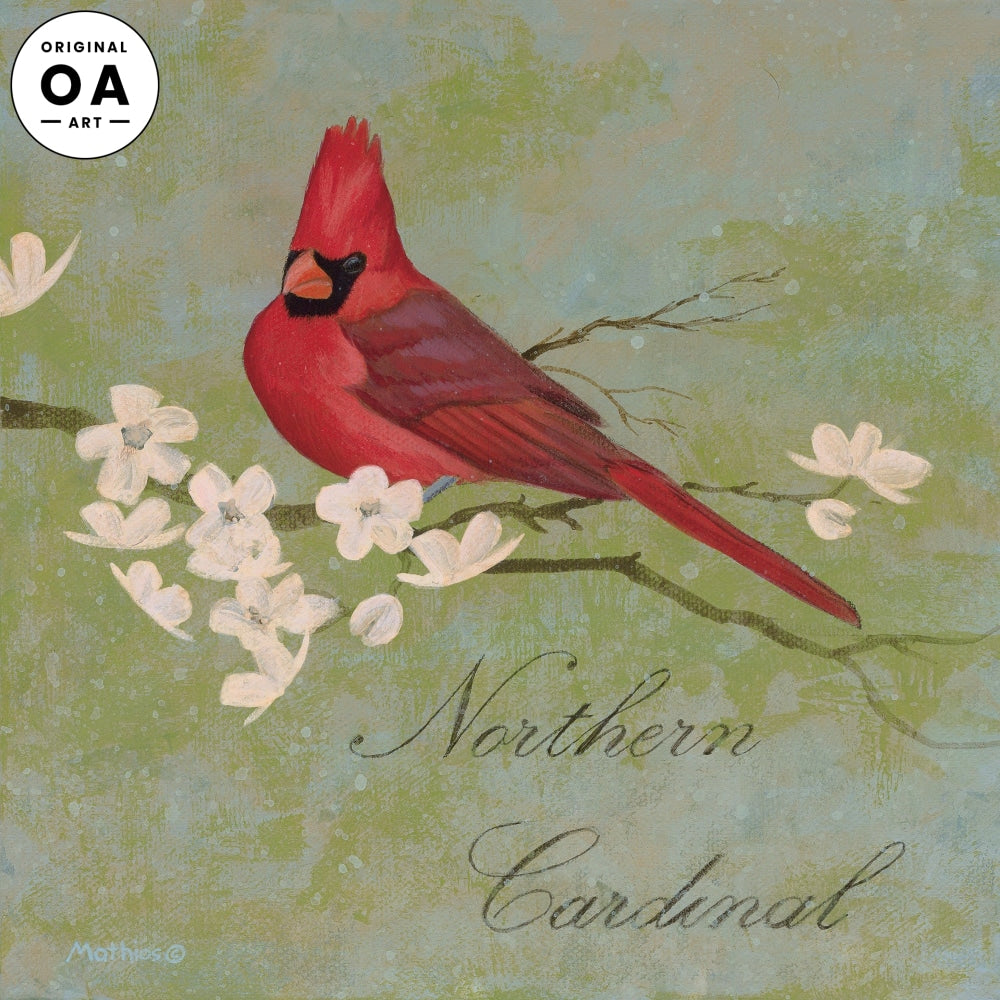 <i>Northern Cardinal</i> Original Artwork