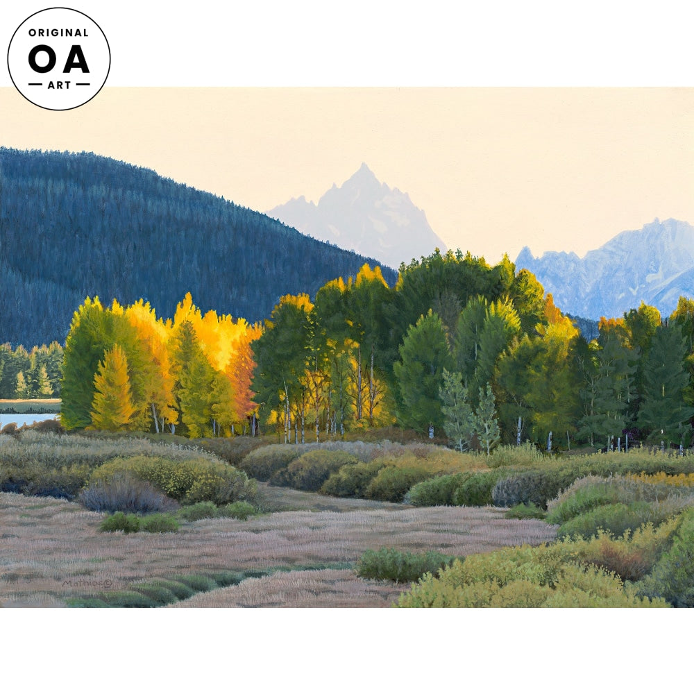 <i>Teton Autumn</i> Original Artwork
