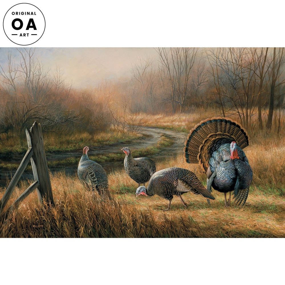 <i>Wild Turkeys</i> Original Artwork