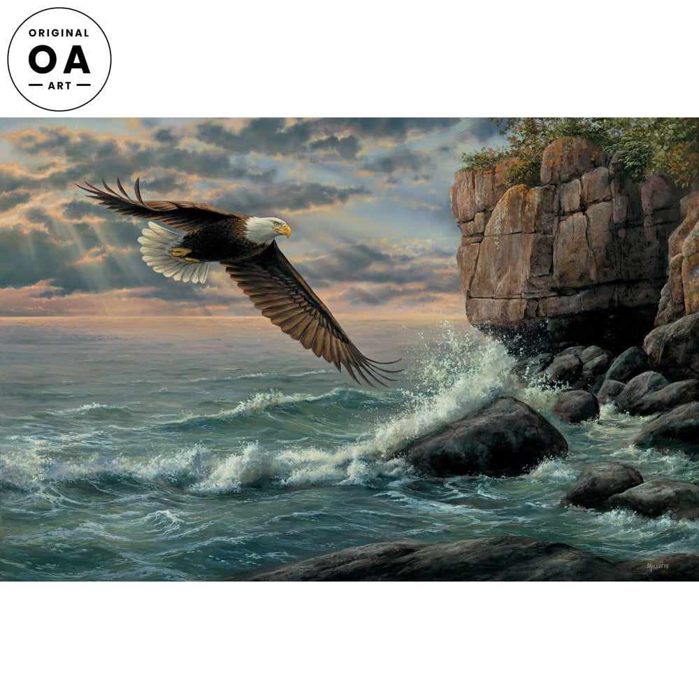 <i>Shore Patrol&mdash;Eagle</i> Original Artwork