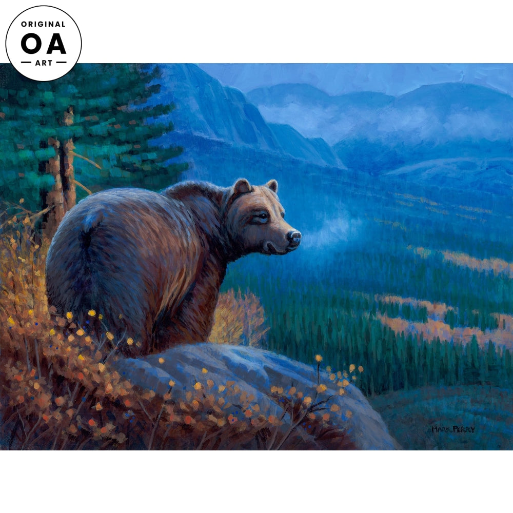 <i>Grizzly Autumn&mdash;Grizzly Bear</i> Original Artwork