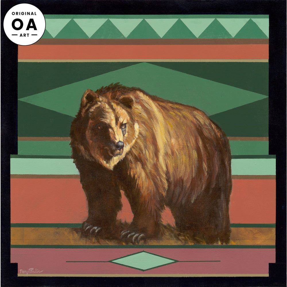 <i>Grizzly Bear</i> Original Artwork