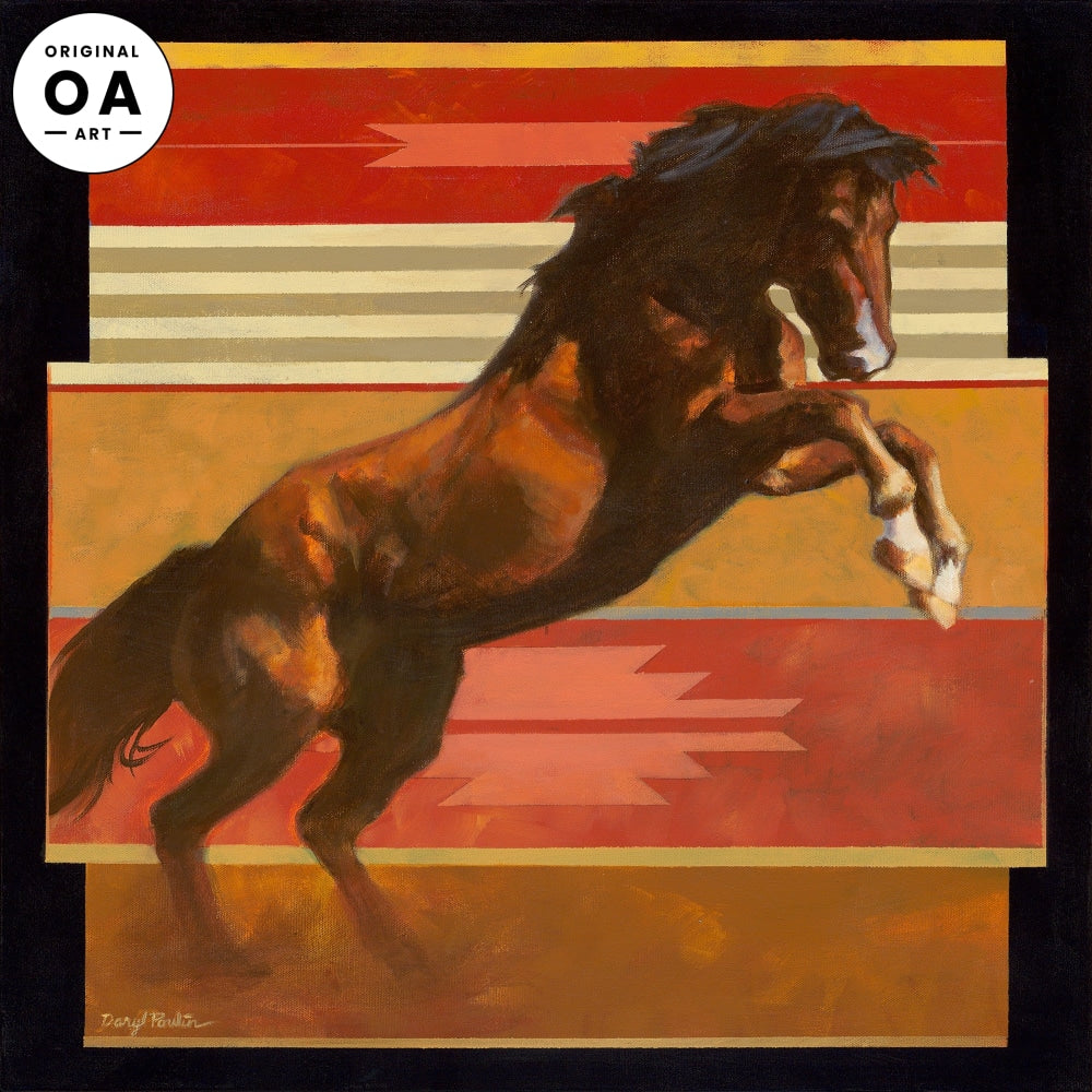 <i>The Rank One&mdash;Horse</i> Original Artwork