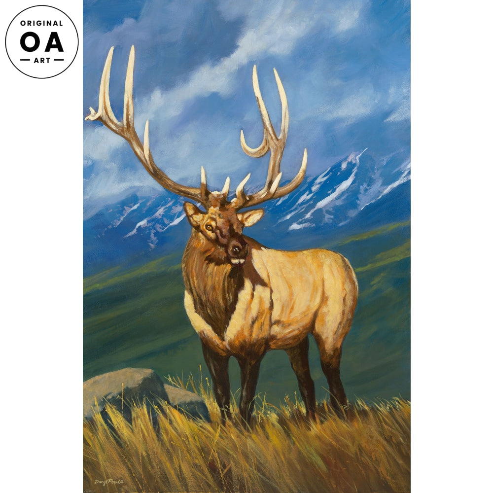 <i>Rocky Mountain Elk&mdash;Elk</i> Original Artwork