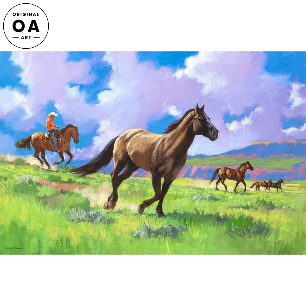 <i>Where Horses Run Free</i> Original Artwork