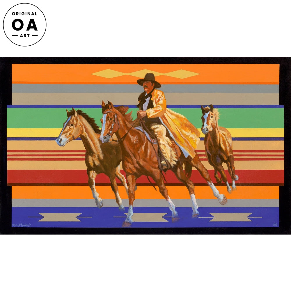 <i>Yellow Slicker&mdash;Cowboy</i> Original Artwork