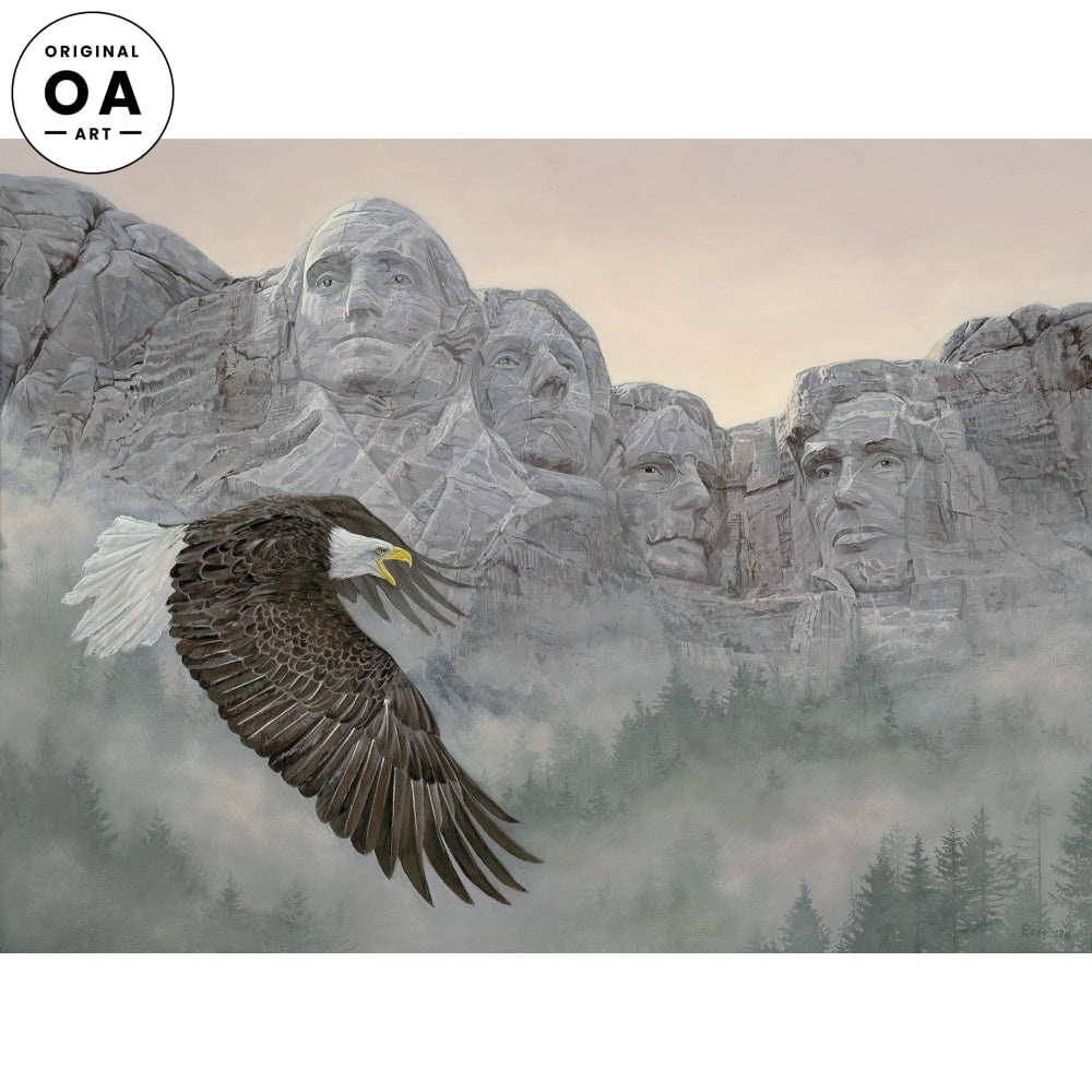 American Splendor—Bald Eagle Original Artwork