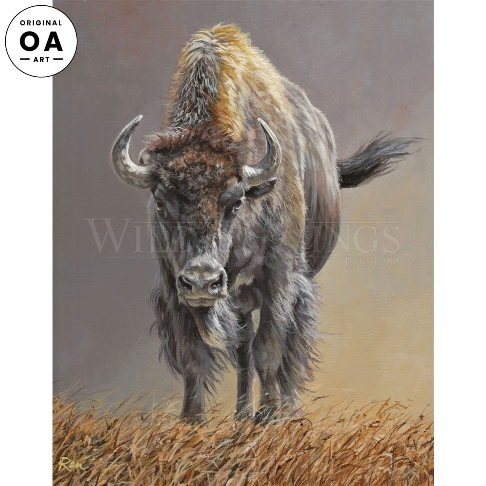 Buffalo Stance Original Art