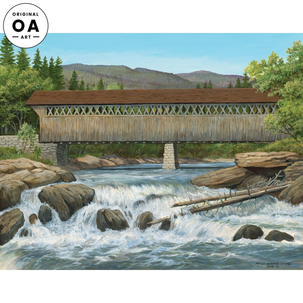 Cumberland Bridge—Covered Bridge Original Artwork