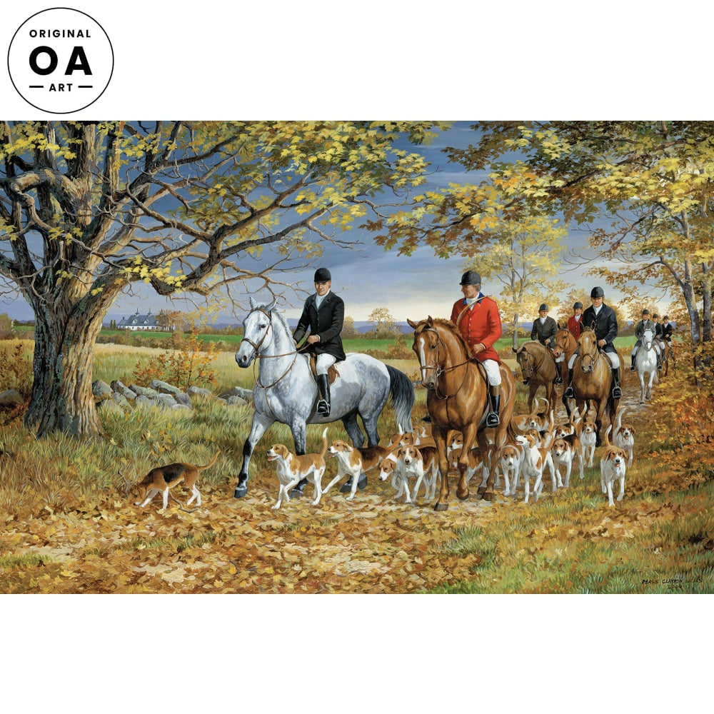 Ride to the Hounds—Fox Hunting.