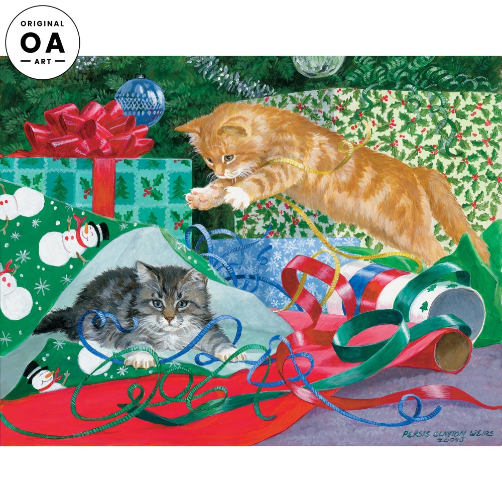 Free Gift Wrap—Cats.