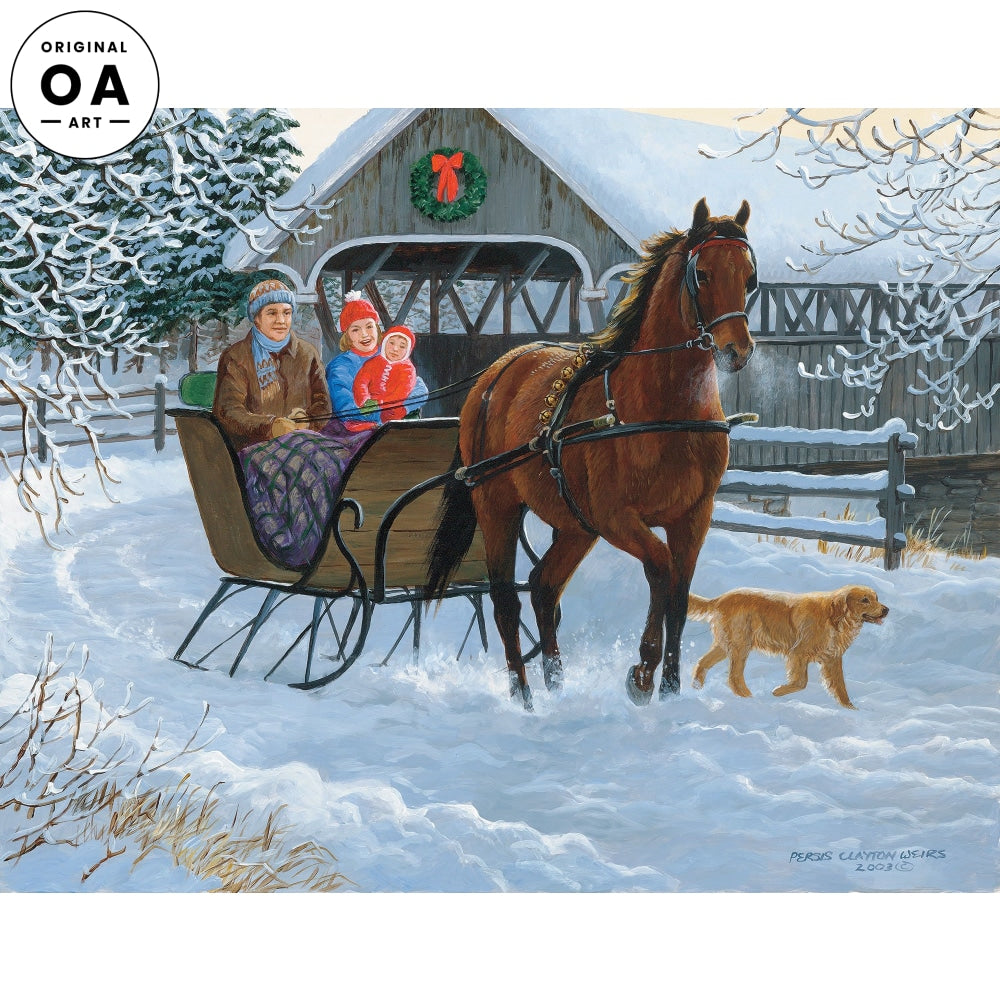 Over the River—Sleigh Ride.