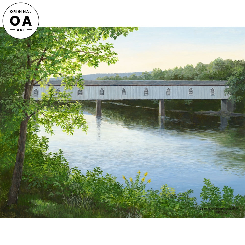 Pleasant River Original Artwork