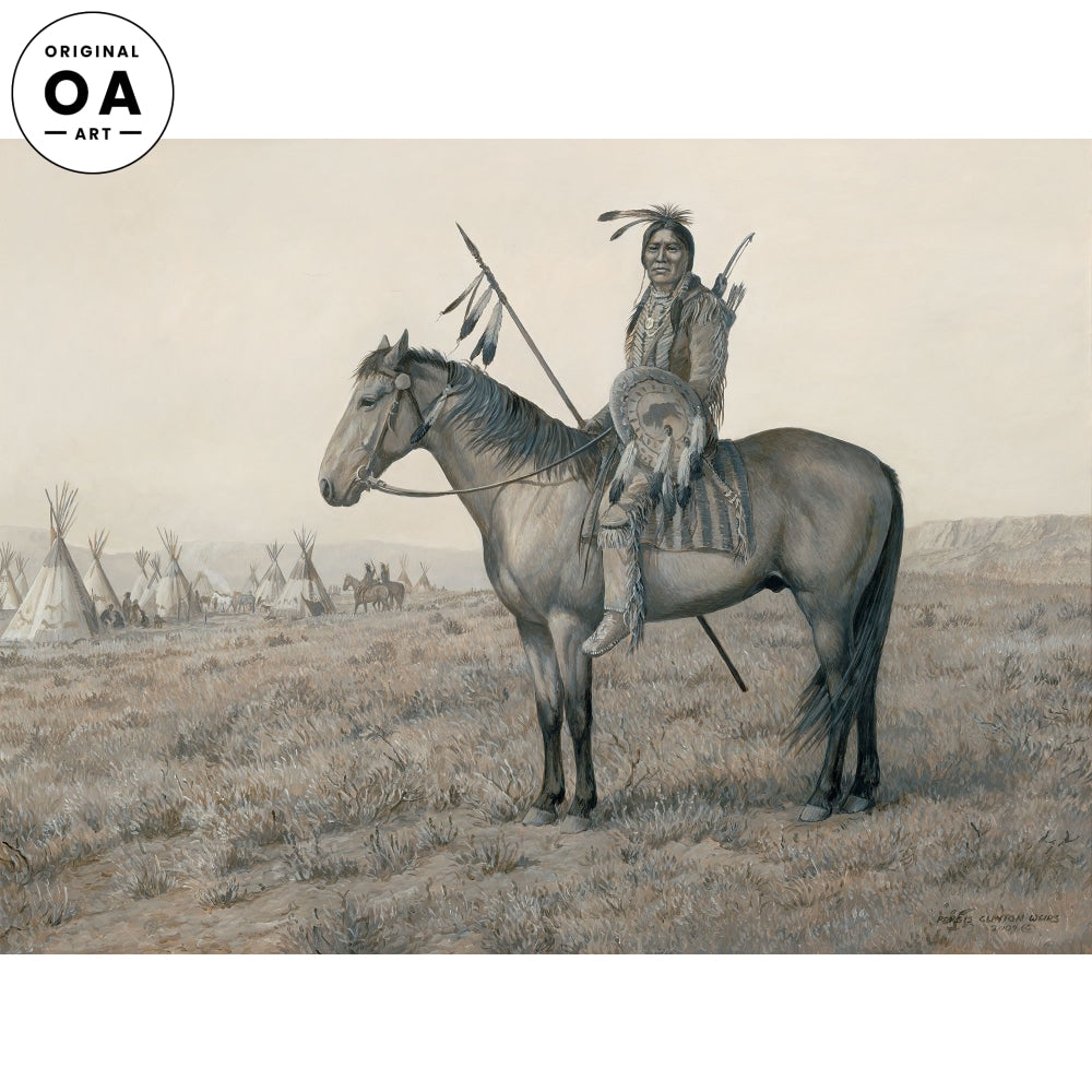 Pride of the Plains—Native American Original Artwork