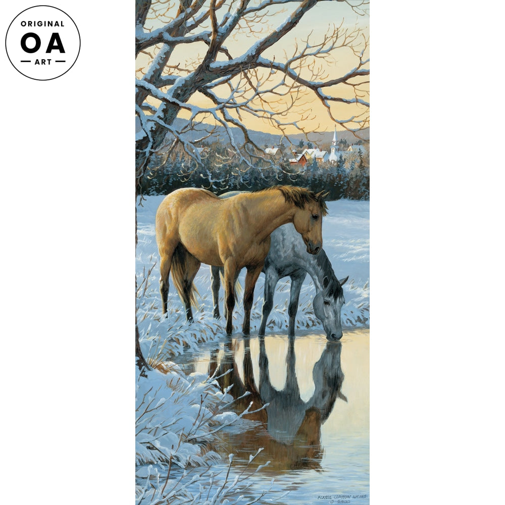 Reflections—Horses Original Artwork