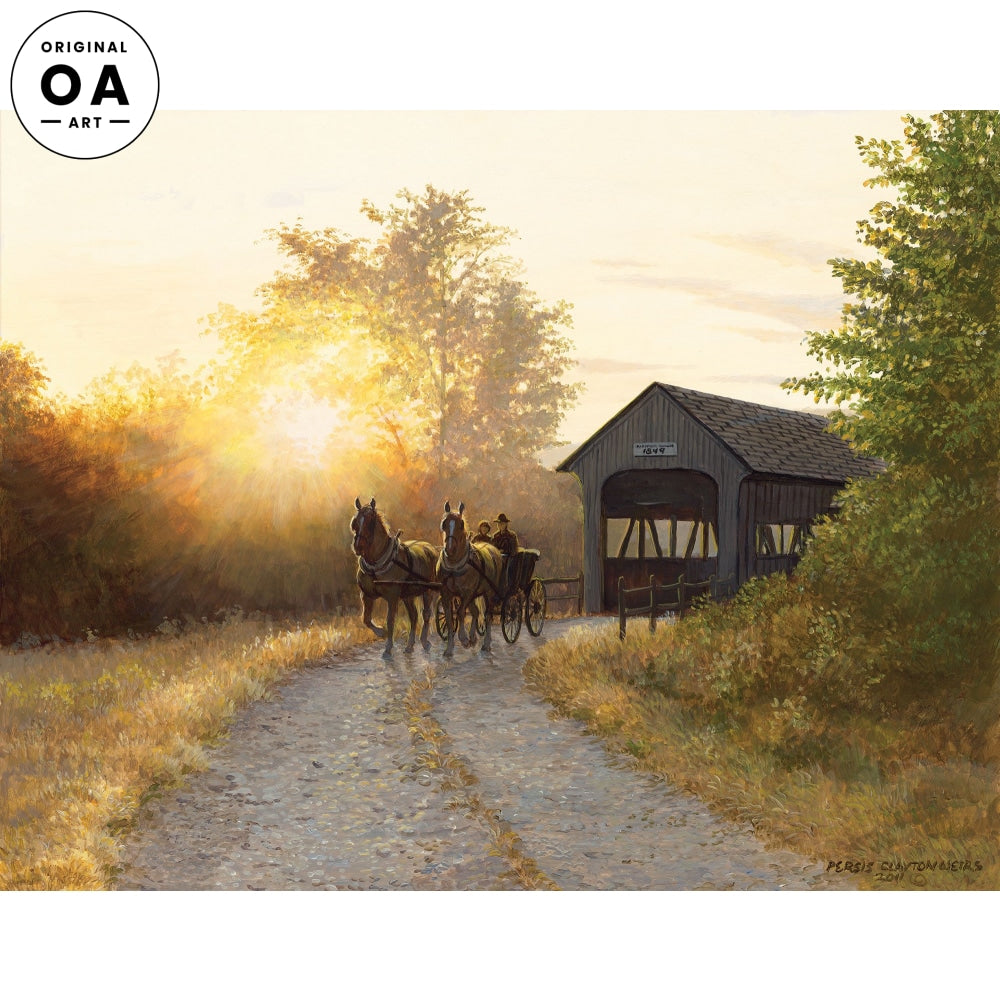 The Road Home—Horse & Buggy.