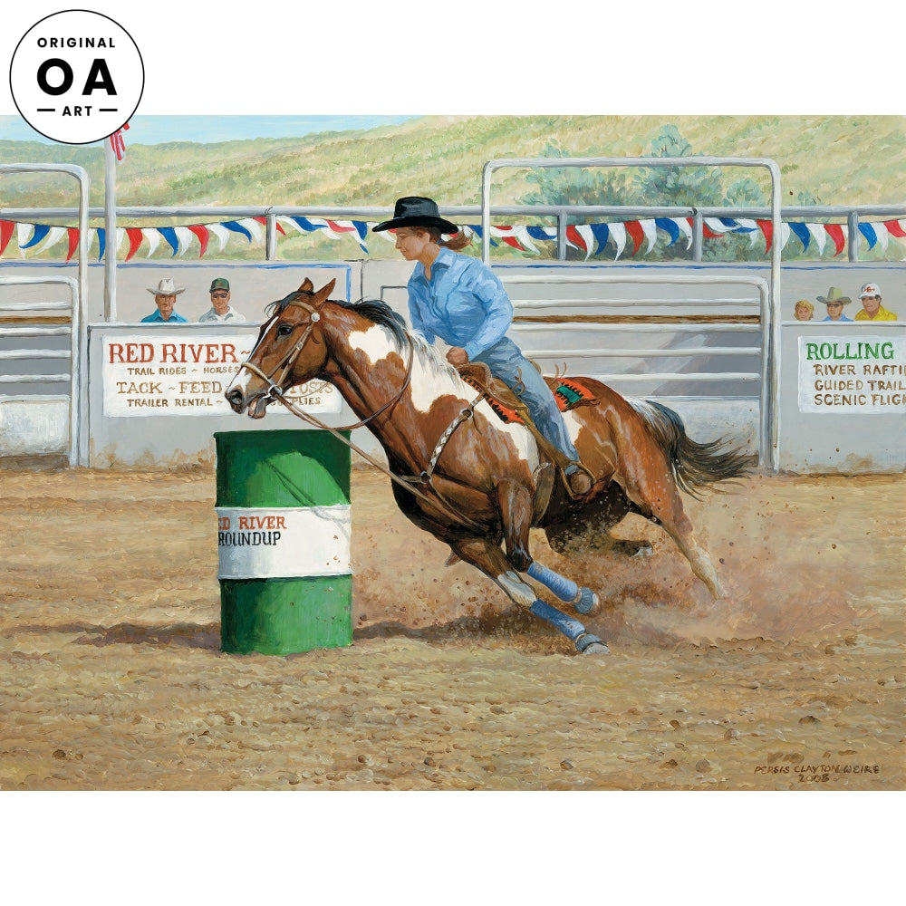 The Time to Beat—Barrel Racer.