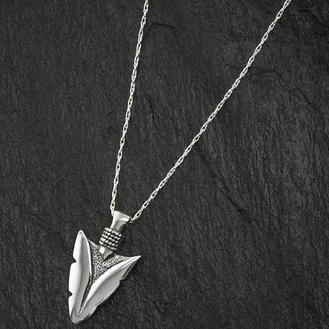 Sterling Silver Arrowhead.