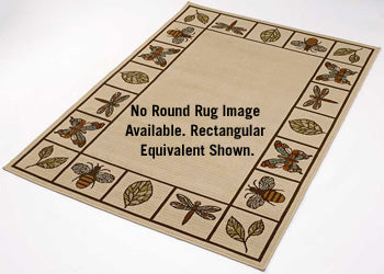 Butterfly & Dragonfly Area Rug Collection