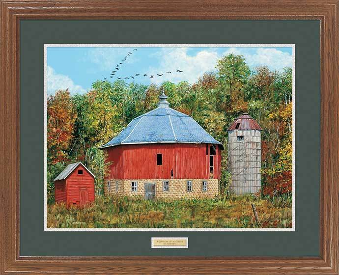 <i>A Century of Autumn&mdash;Barn</i>