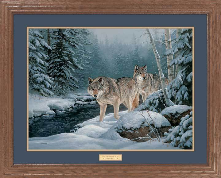 Along the Creek—Wolves.