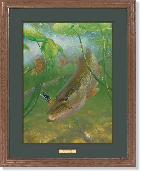 <I>In The Thick Of It&mdash;muskie</i> Gna Premium Framed Print<Br/>31H X 25W Art Collection