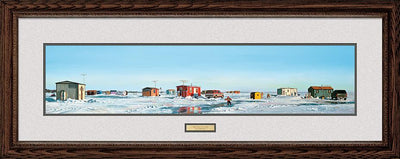 <I>Frostbite Flats</i> Framed Limited Edition Print<Br/>17.5H X 44W Art Collection