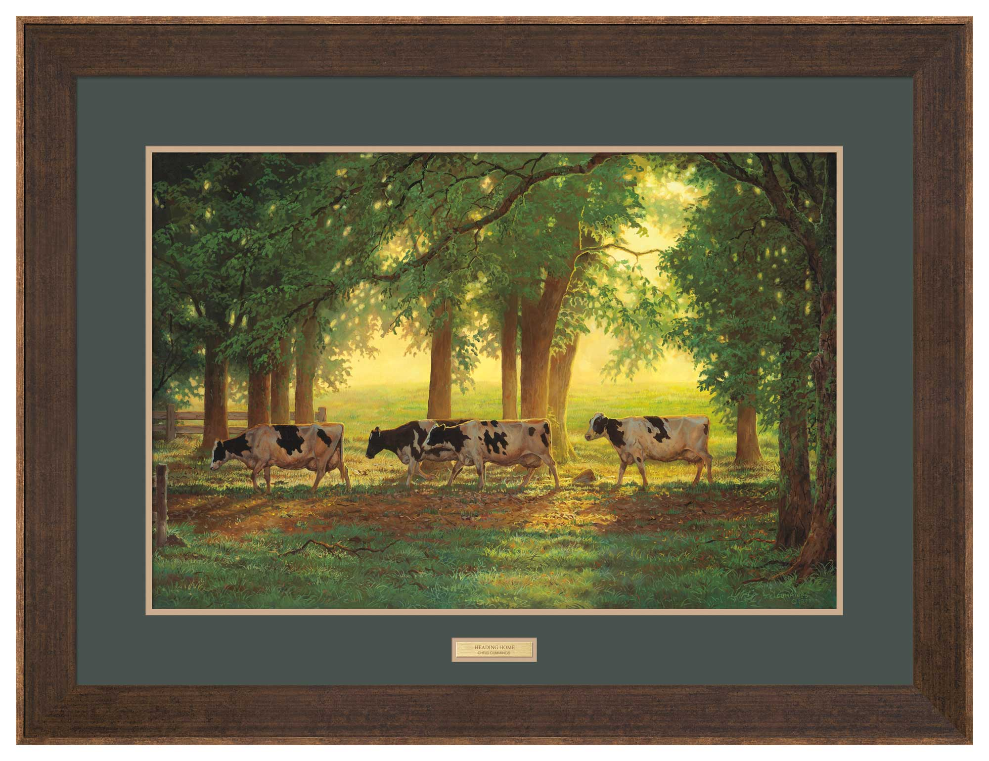 Holsteins Cattle Art