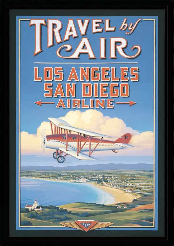 L.A. to San Diego Vintage Travel