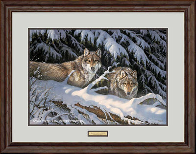 Black Timber-Wolves Art Collection