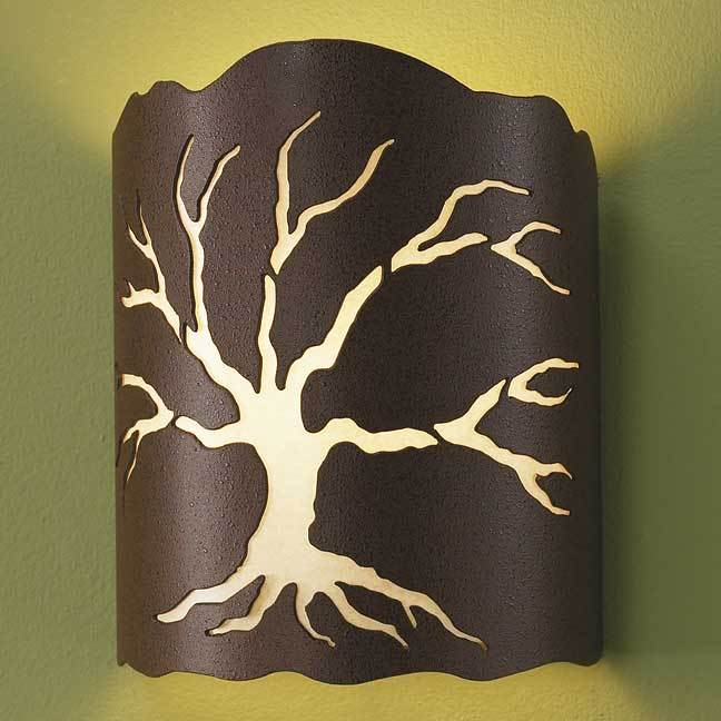 Living Tree Wall Sconce