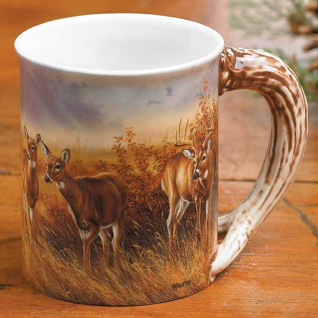 <I>Meadow Mist&mdash;wtd</i> Sculpted Mug