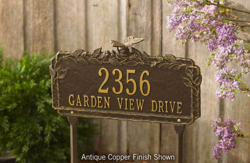 Butterflies Personalized Garden Sign