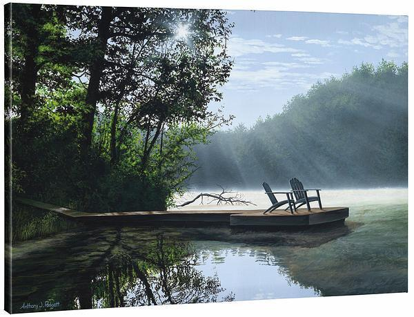 <I>A Place To Ponder</i> Gallery Wrapped Canvas