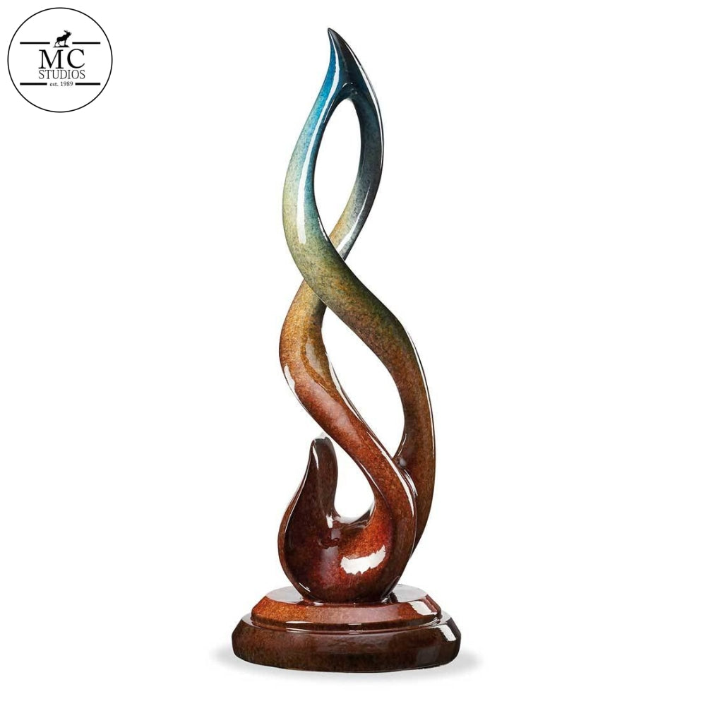 Reflections Flame Imago Sculpture