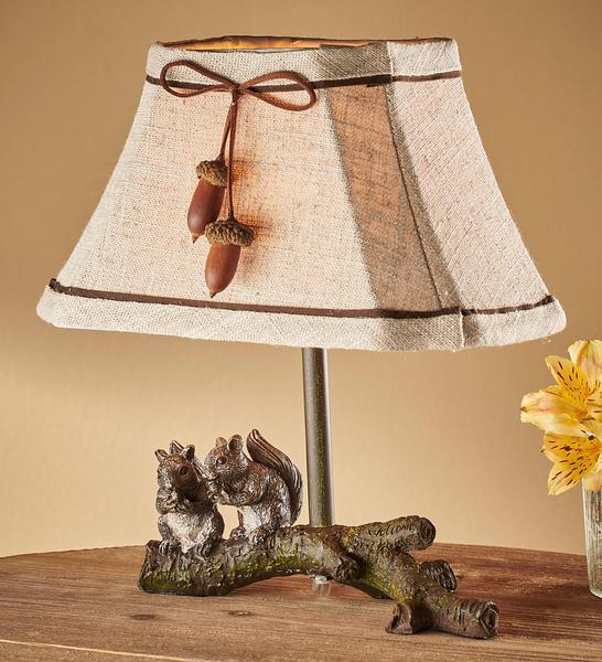 Acorn Buddies—chipmunk Accent Lamp
