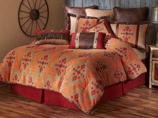 Adobe Sunset Bedding Set (King)